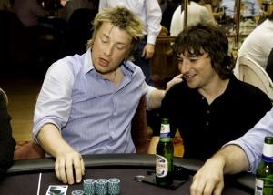 Jamie Oliver and Matt Skinner