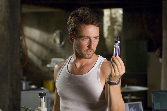 Edward Norton as Bruce Banner